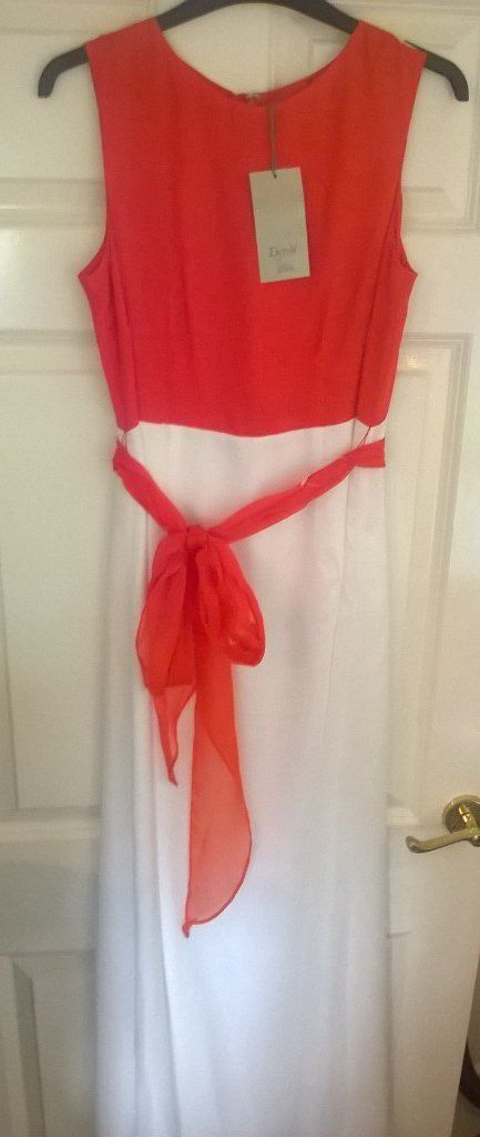 Diana Vickers colour block maxi dresses BRAND NEW size 10 and 14
