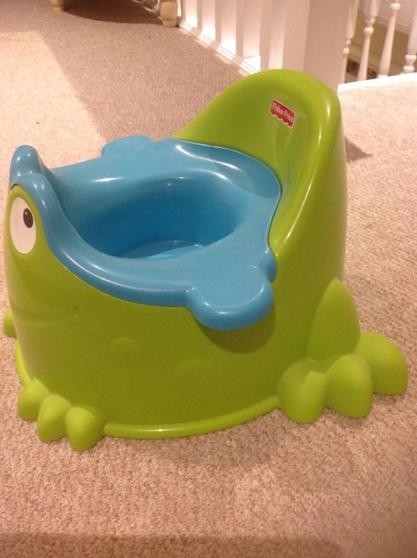 Fisher price frog potty
