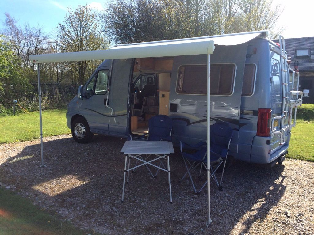 Sterling Freedom Fiat Ducato 2.8 JTD LWB 2 Berth Campervan - PRICED FOR QUICK SALE