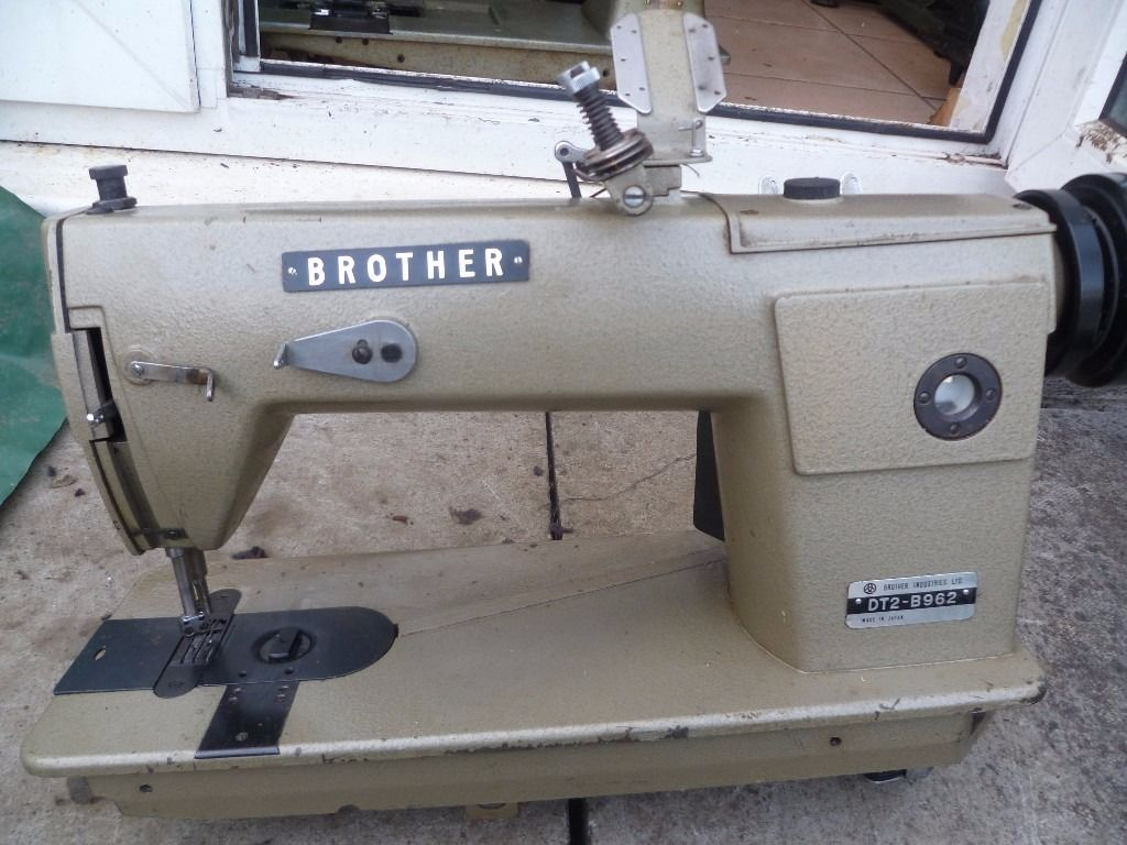 CHAINSTITCH DOUBLE NEEDLE BROTHER DT2-B962 INDUSTRIAL SEWING MACHINE