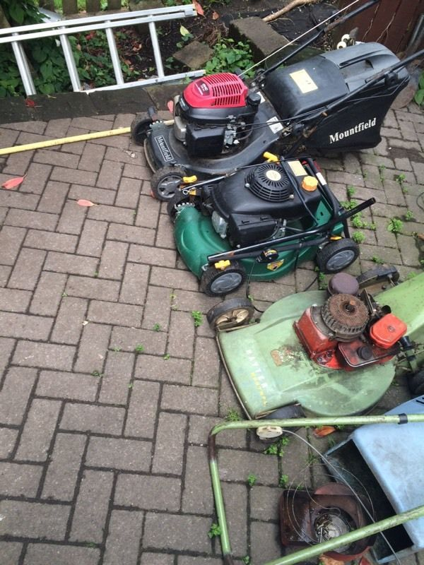 3 Petrol mowers spairs or repairs