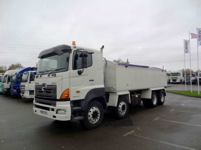 2007 (57) HINO FY 3241 8x4 Insulated Tarmac Tipper