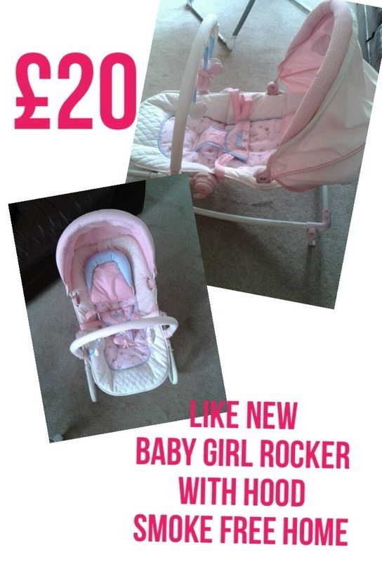 Girl Rocker Chair