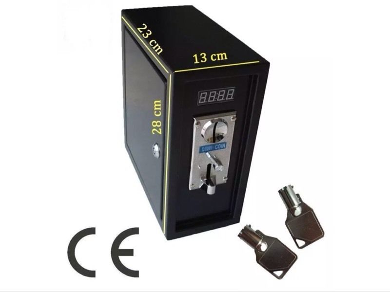 Multi coin timer money box for vending PC