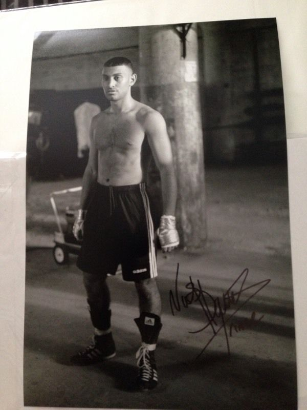 Authentic hand signed prince Naseem hamed 12x8 photo