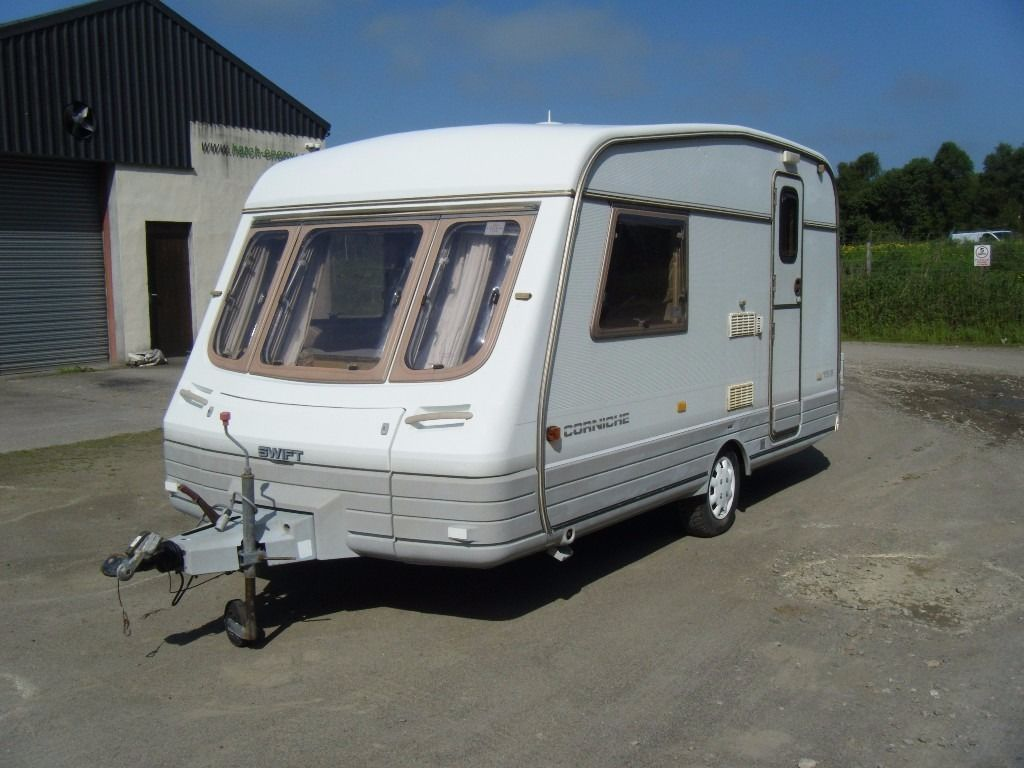 1997 SWIFT CORNICHE 13/2 2 BERTH CARAVAN NICE EXAMPLE NO DAMPNESS