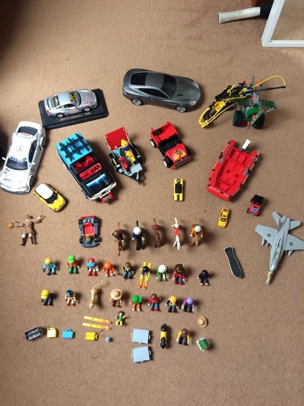 Mixed Toy Box - Playmobil, Toy Cars & Much More!