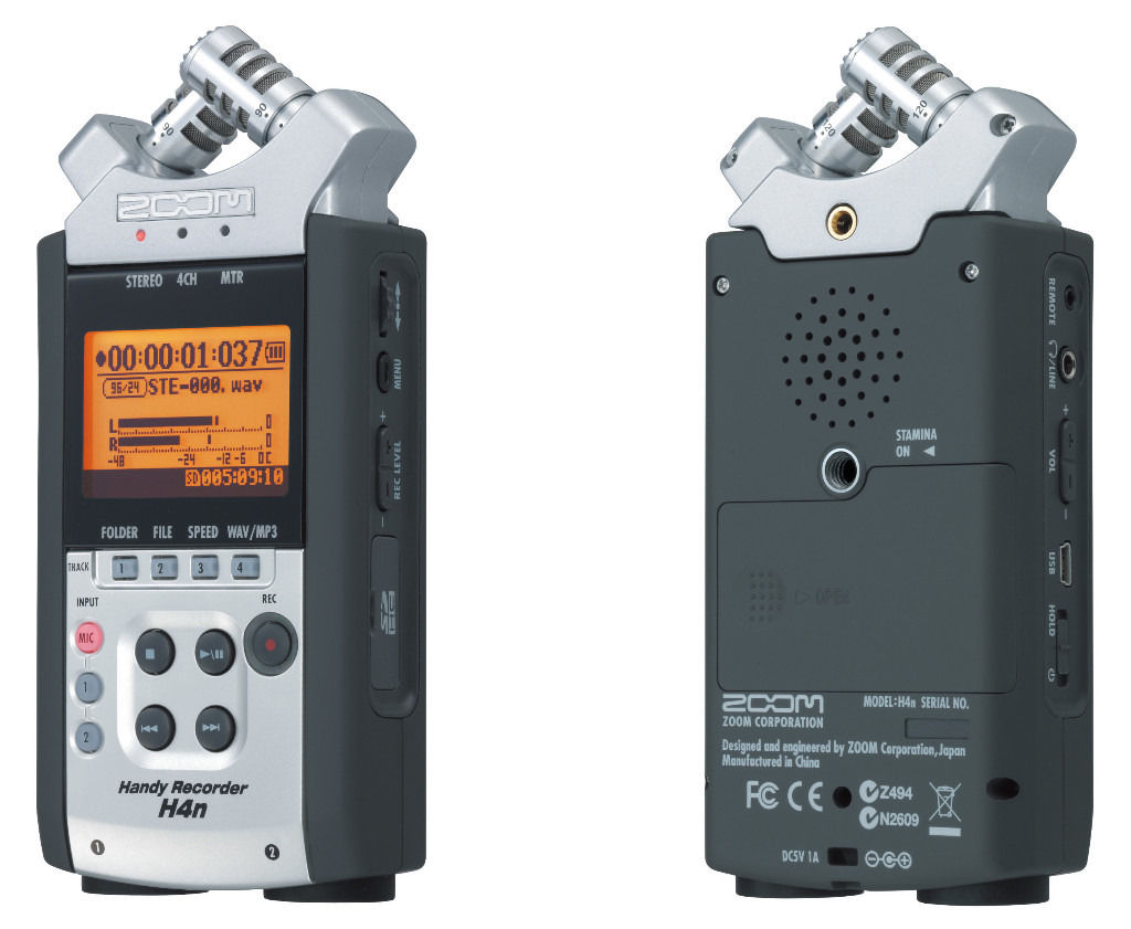 H4N ZOOM HANDY RECORDER