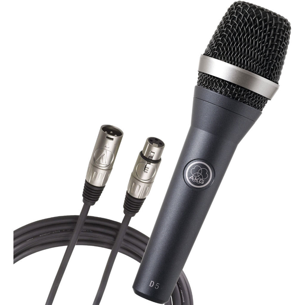 BRAND NEW AKG D5 SUPERCARDIOID DYNAMIC MICROPHONE