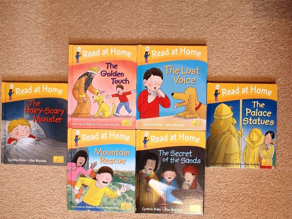 Oxford Reading Tree Books levels 1-5