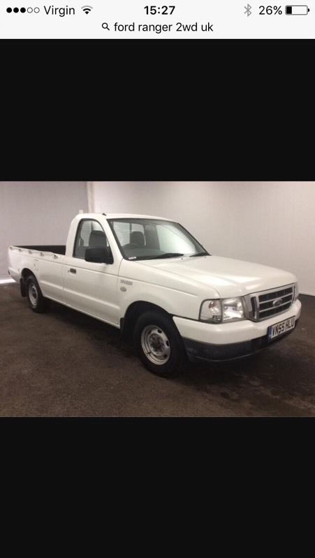 Ford ranger 2wd wanted
