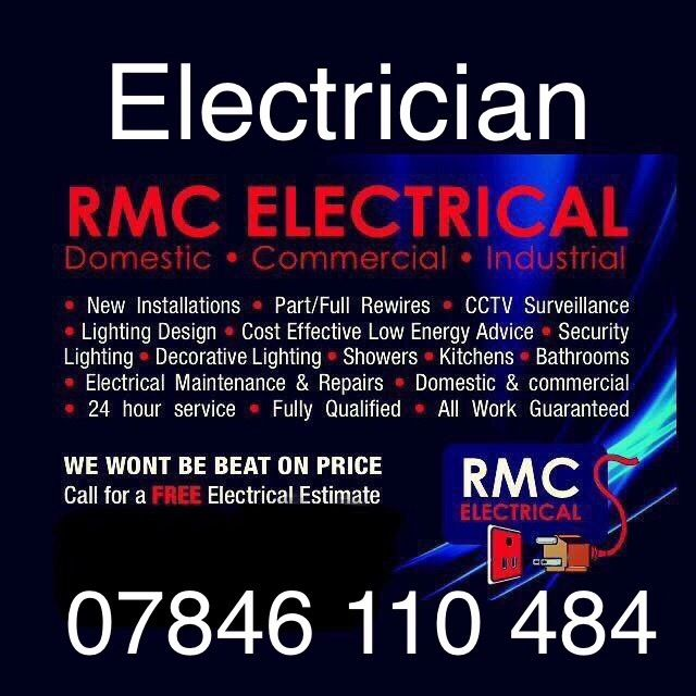 ??ELECTRICIAN BELFAST ??24 H service , over 10 years in business free estimates all work guaranteed