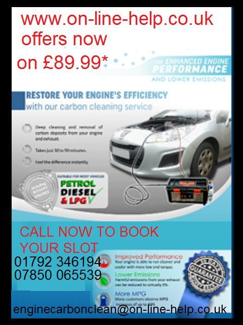 MOBILE CAR DIAGNOSTICS WITH AUTOBOSS V30 AND ENGINE CARBON CLEANING WITH HYDROGEN CLEANING MACHINE