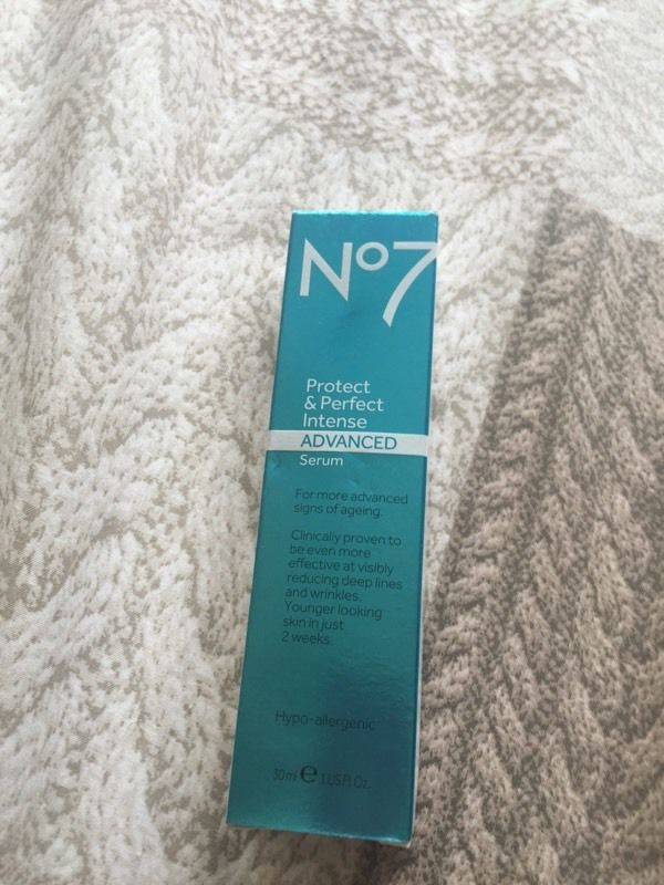 No 7 protect and perfect serum the WOW cream