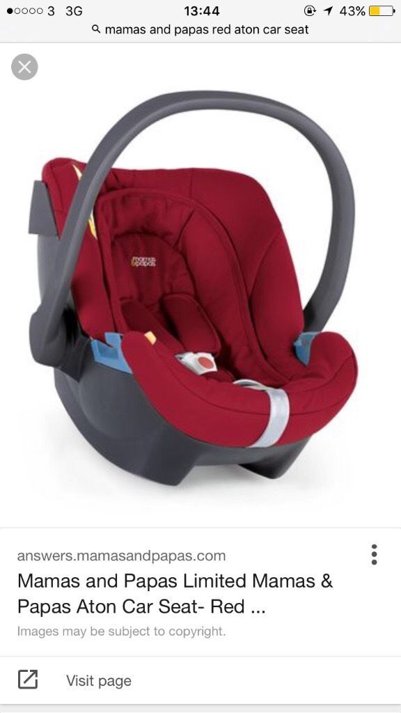 Mamas and papas Aton car seat