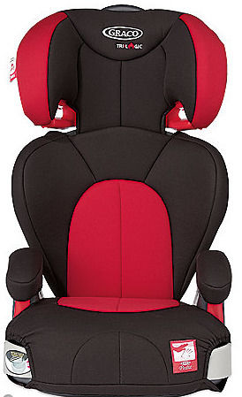 Graco Logico L Highback Universal Booster Car Seat - Chilli Colour