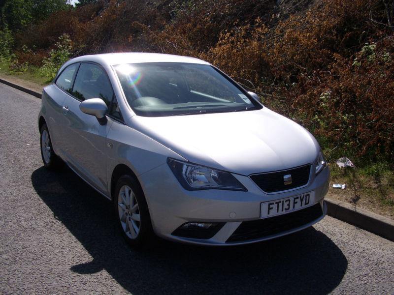 2013 Seat Ibiza 1.4 16v 85ps SportCoupe SE, ONLY 26938 MILES, 1 PRE OWNER, SALE