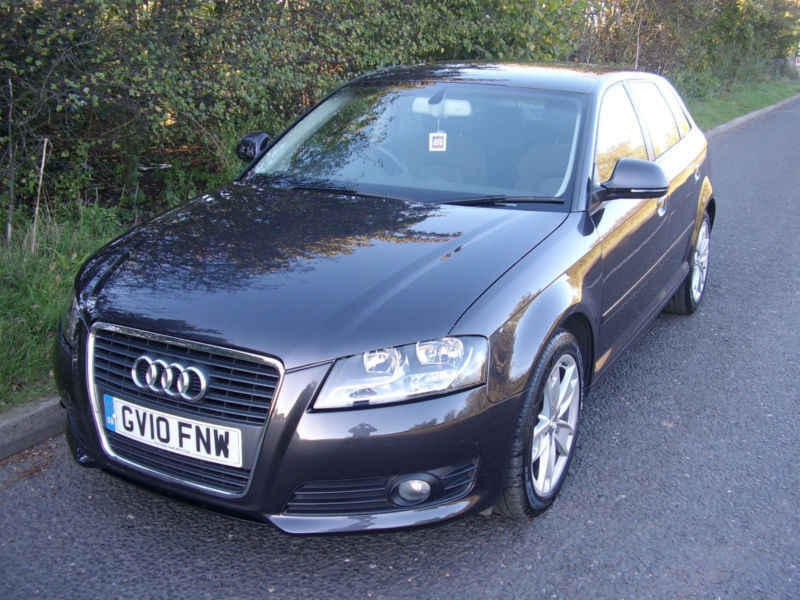 2010 Audi A3 1.4TFSI Sportback S tronic Sport,ONLY 32633 MILES,1 PRE OWNER, FASH