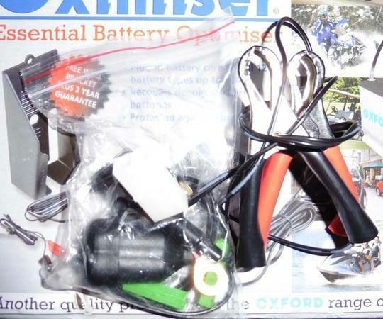 OXFORD OXIMISER 600 BATTERY CHARGER/RECOVERY