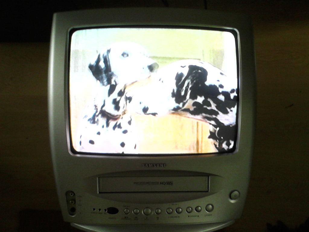"14"" colour TV with VHS Video"