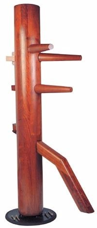Wing chun Wooden dummy (Spinning) Bruce lee martial arts Ipman