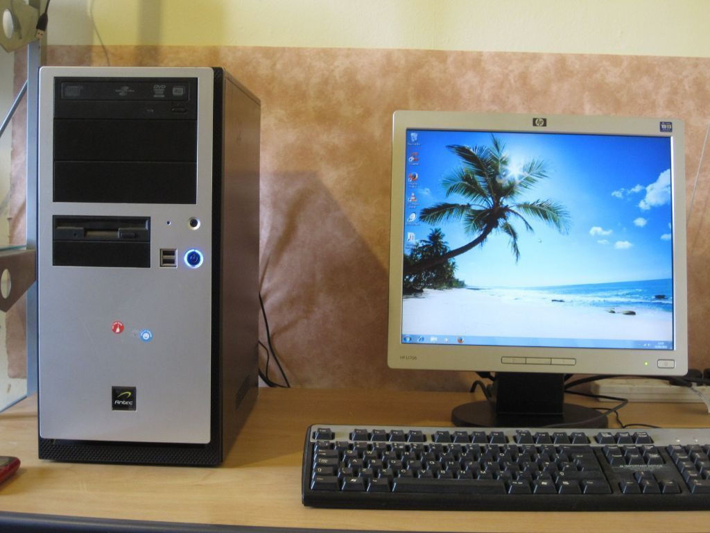 """Fast Dual-Core Setup, 3.20ghz x 2, 4gb,WiFi, Win 7, MS Office, 17"""" LCD, delivery option"""