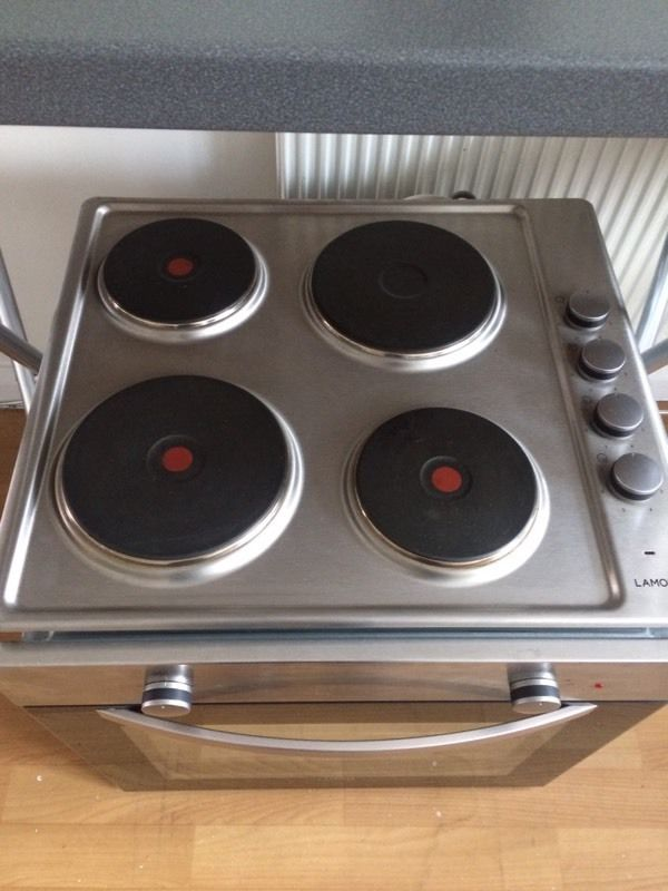 Hob cooker electric