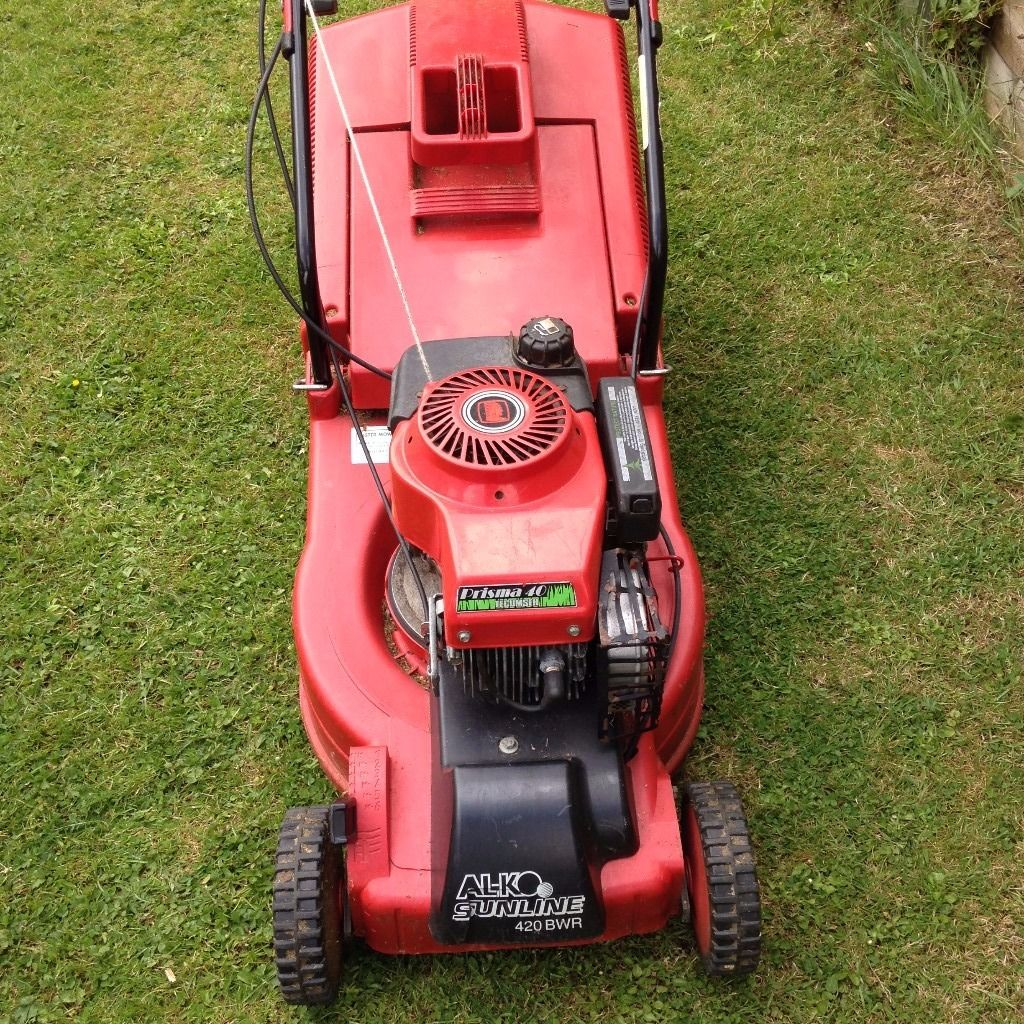 ALKO Sunline 420 self propelled rotary petrol mower