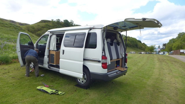 2010 Toyota Hiace CAMPERVAN, 4 BERTH, 34k Miles, ELEVATING ROOF, LEATHER Throughout, ROCK n ROLL bed