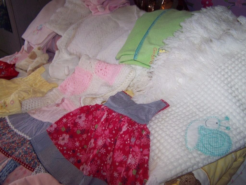 0 - 3 mths Girl Clothes for sale mixture Next ect ect