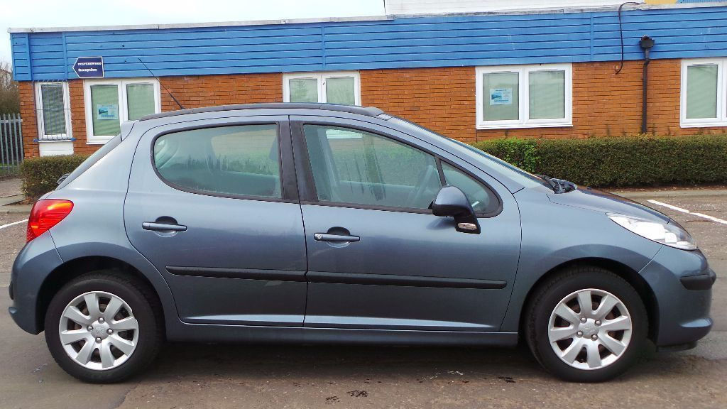 2007 07 PEUGEOT 207 1.4 S 5DR GREY MOT 05/17(CHEAPER PART EX WELCOME)
