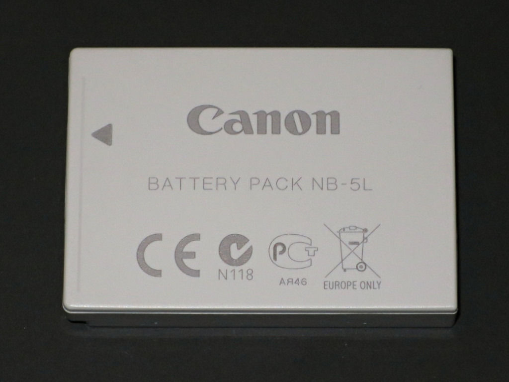 Canon NB-5L Battery for PowerShot and IXUS cameras. Almost new - barely used