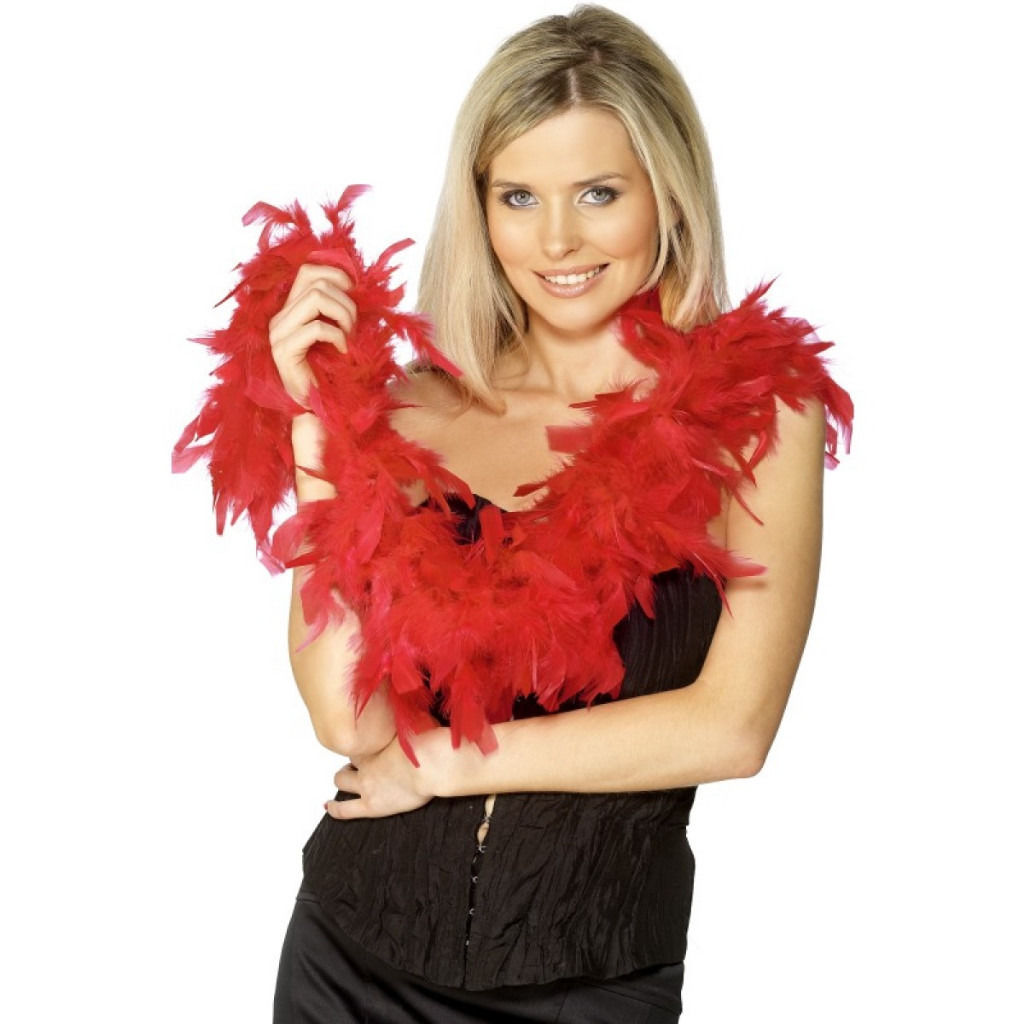 8 Brand New Red Feather Boas! Perfect for a Hen Do!