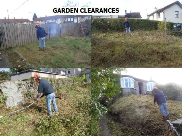Gardeners grass cutting hedge cutting garden clearances belfast lisburn carrickfergus north down