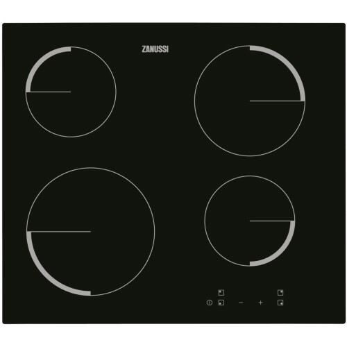 Zanussi Black Glass Ceramic Hob