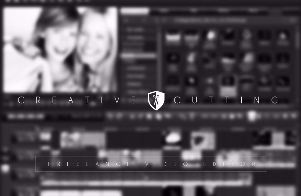 CREATIVE CUTTING Film Editing -Turn photos and video clips into full size video with emotional music