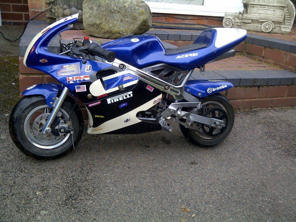 Mini Moto 49cc, GOOD CONDITION, LOOK ! P/X OR SWOP FOR MINI DIRT BIKE CAN BE NON RUNNER.