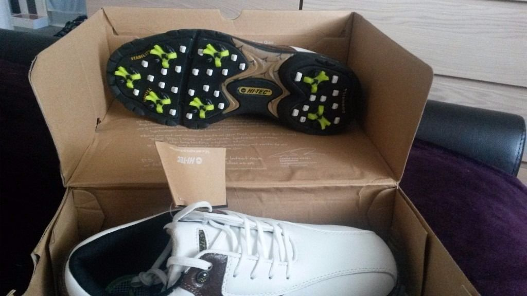New in box, hi-tec golf shoes size 6 1/2
