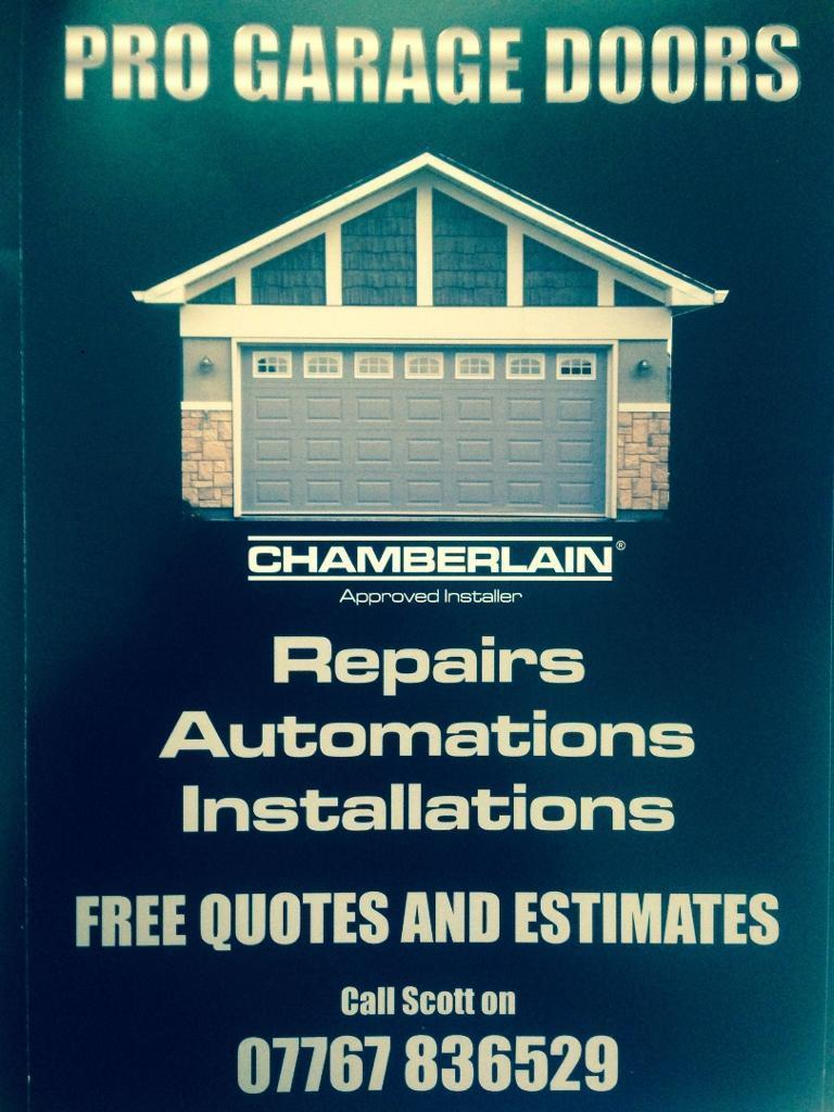 GARAGE DOORS REPAIRED - REPLACED -AUTOMATIONS