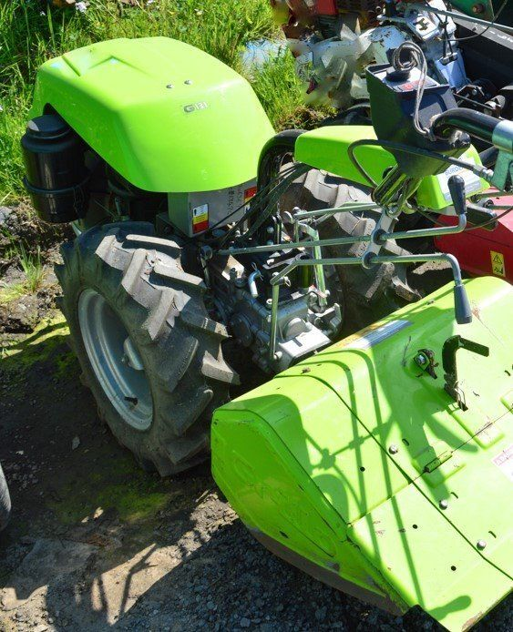 ROTAVATOR- Grillo 12.2Hp Walking Tractor with Rotavator attachment