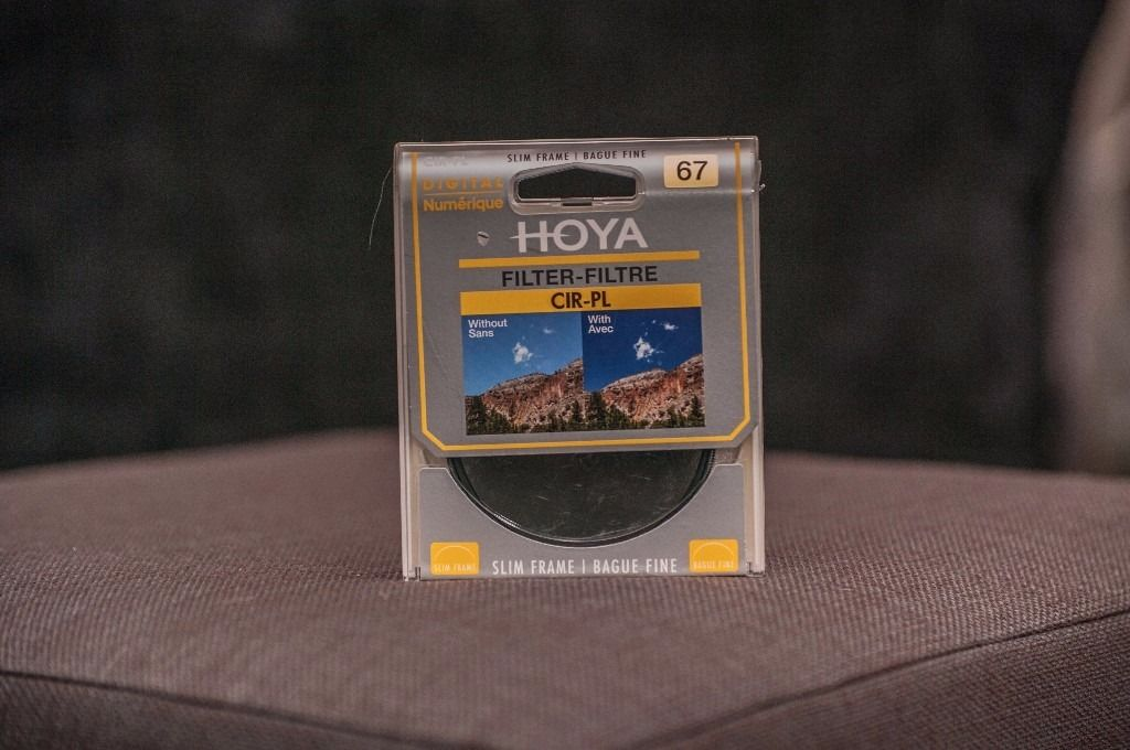 Hoya 67mm CIR-PL slim frame