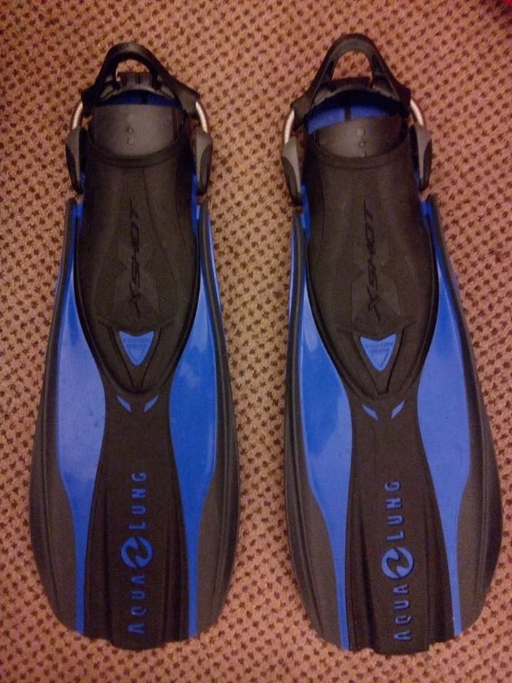 Aqua Lung FX Shot Fins - NEW.