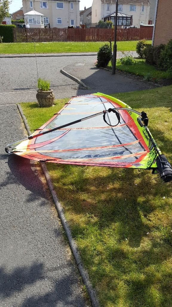 Complete intermediate windsurfing kit
