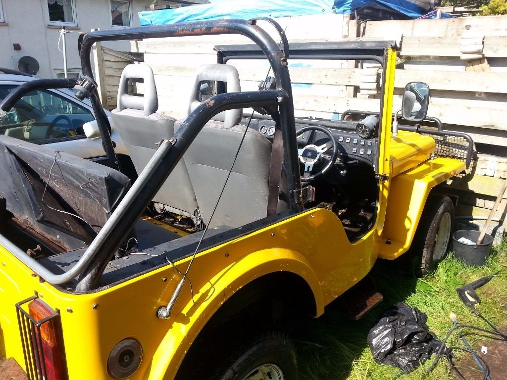 JAGO JEEP KIT CAR (SPARES/REPAIR)