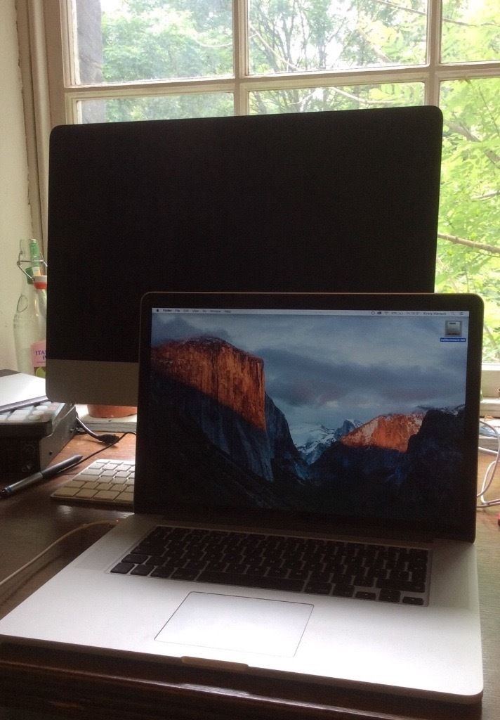 "APPLE MACBOOK PRO RETINA 15.4"" (Mid 2015) 2.8 GHz (Quad Core) Intel Core i7 16GB 512GB Flash Storage"