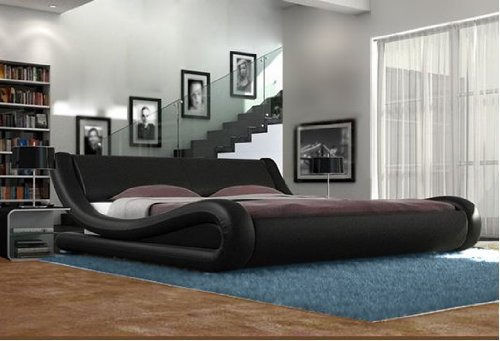 Stylish curved bed - various colours/sizes