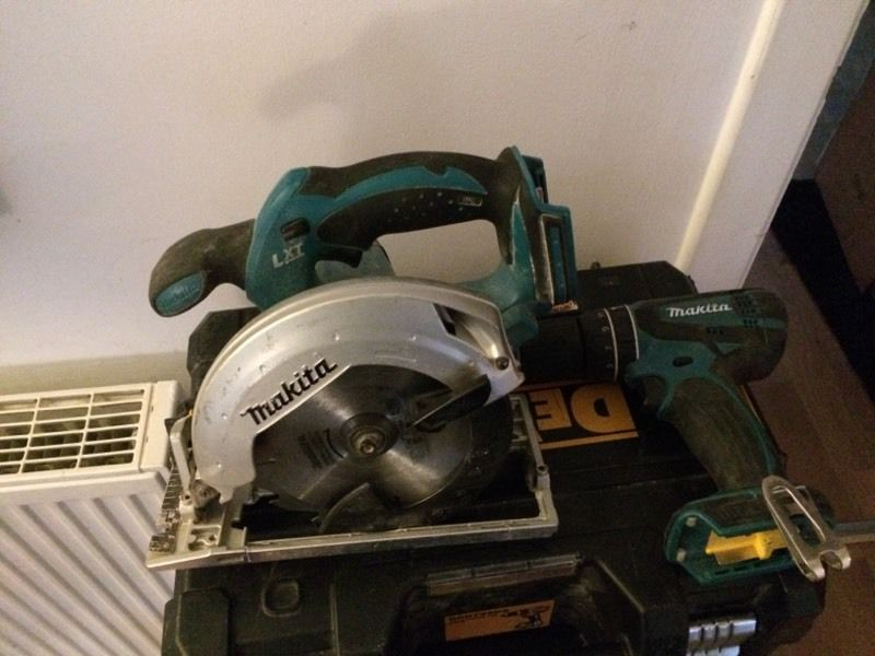 Makita Combi drill and rip snorter (bodies only)