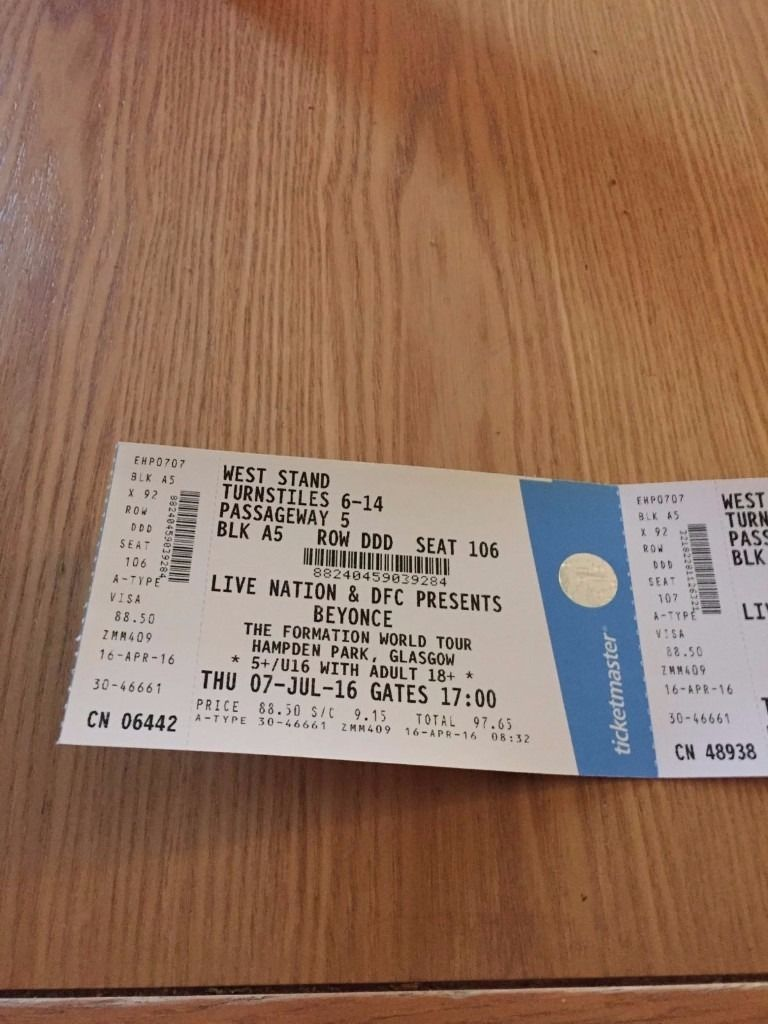 ***CHEAPER THAN FACE VALUE BEYONCE TICKETS EXCELLENT SEATS X 2***