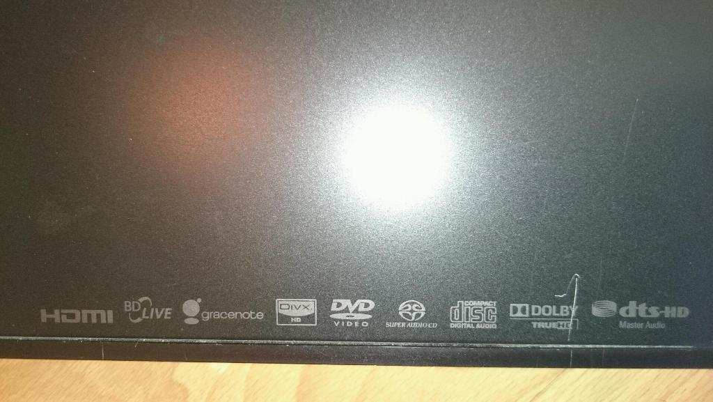 Sony Blu-ray DVD player, loads of features