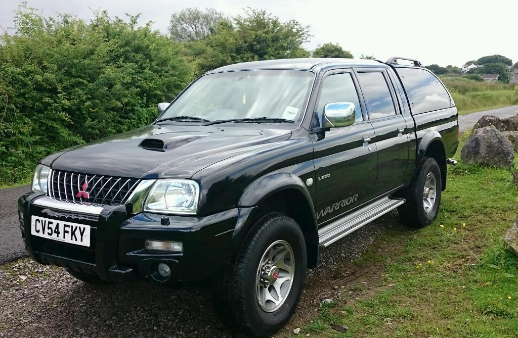 Mitsubishi L200 Warrior with genuine factory power upgrade